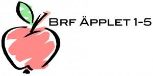 Logga Brf Äpplet 1-5 liggande